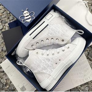 Shoes Box 19SS High Top Baixo Basquetebol B23 Luxo Triplo limitada Hommes Homens das mulheres clássicas Oblque Formadores Sapatos 36-45