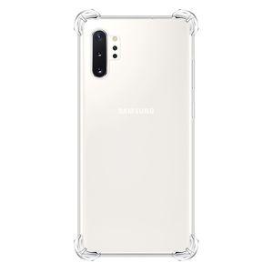 Darbeye dayanıklı Şeffaf Kılıf Samsung Galaxy A10S / A20S / M30S / A80 / A90 / Not 10 / Not 10 Pro Temizle koruma Arka Kapak + İpi
