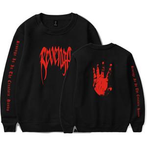 XXXTENTACION 랩퍼 기념 풀오버 스웨트 XXX 보복 편지 손 팜 스웨터 t- 셔츠 남성 여성 패션 디자인 후드 인쇄하기