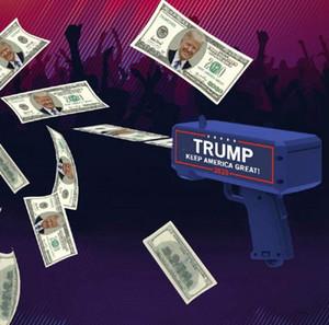 Дональд Трамп Деньги Gun Keep America Great Trump 2020 Letter Printed президент США ПЕРЕИЗБРАНИЕ Деньги Пистолеты благосклонность партии 144pcs OOA8004