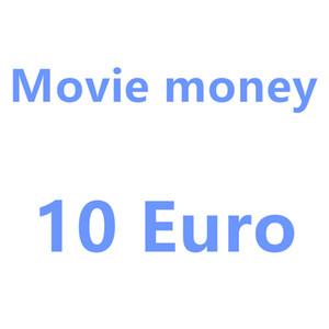 فيلم دعامة الأوراق النقدية 10 يورو لعبة أطفال المال حزب حزب لعبة العملة المزيفة هدية الدولار الأوراق النقدية