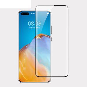Для Samsung S21 Ультра изогнутые закаленные стекла Galaxy Note 20 S10 Plus S20 Полный крышкой Protector 3D Huawei P40 Pro P30