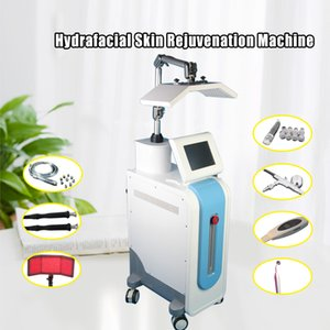 PDT LED 광선 요법 Hydradermabrasion 다이아몬드 미세 박피술 산소 제트 박리 BIO Microcurrent Skin Scrubber 7 IN 1 Hydrafacial Machine