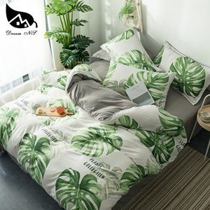 Dream NS Nordic Rainforest Bedding Set For Nordic Leaf Bedroom Cover Pillowcase Warm Soft Home Bedroom Living Room Set