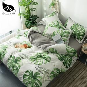 Dream NS Nordic Rainforest Bedding Set For Nordic Leaf Bedroom Cover Pillowcase Warm Soft Home Bedroom Living Room Set