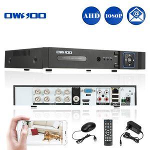 Система 1080P AHD Network DVR CCTV Security Digital Video Recorder 8CH P2P обнаружения движения для камеры видеонаблюдения