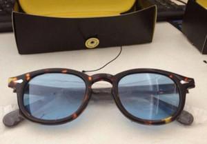 Chegam novas 6 cores S m L tamanho lemtosh óculos de sol óculos johnny depp óculos de sol quadros top Qualidade óculos de sol quadro com caixa de orig
