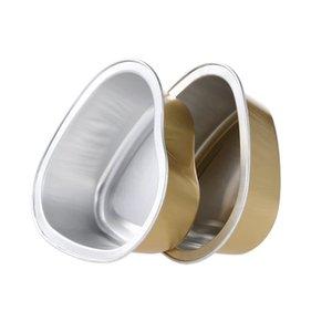 10Pcs 30g schmelzende Wachs Schüssel Reusable Herzform Aluminiumfolie Bowl Film Hard Wax Epilation W4828