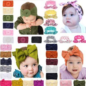 8 estilos bebés arco Carneiras crianças Elastic headwear mantilha Headwrap Turban Knot Crianças Cabelo Acessórios Atacado