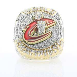 Envío gratis fresco 2016 Cavaliers Basketball Championship Ring 23 JAMES Ring for Fans Champion Rings Wholesale