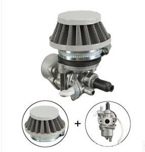 Carb Carburador w / filtro de ar para 47cc 49cc dois tempos do motor da motocicleta ATV sujeira Po