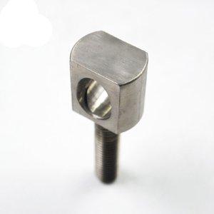Serviço de usinagem cnc personalizado Profissional de aço inoxidável auto peças de precisão CNC torneamento fabricante, peças de titânio cnc para ma industrial