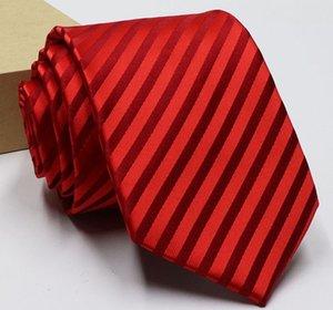 toptan düşük fiyat yüksek kalite 5pcs / sürü Polyester erkek kravatı (145x8cm) (8.9) fhgf