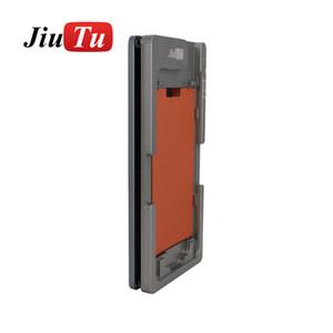 قالب آلة صفح آيفون 8 8 زائد 7 7P 6S 6SP LCD وزجاج المواقع محاذاة الضغط قالب معدني + حصيرة المطاط