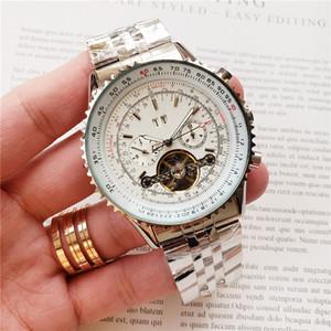 reloj de los hombres de descanso al aire libre reloj BR mecánica ROYAL OAK Todas las funciones se pueden manejar 48MM cinta de acero