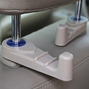 2PCS Car Fastener & Clip Interior Accessories Bags Auto Portable Seat Hook Hanger Purse Bag Holder Organizer Holder Car Styling