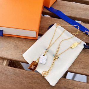 Double brand letters necklace bracelet chain luxury designer jewelry women necklace women earrings love bracelet mens 14k gold chains new