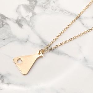 10 unids Love Chemistry Counting Pot Pot Pendant Necklace Medición de Cristal Forma de Cristal Charm Jewelry Necklace Gift