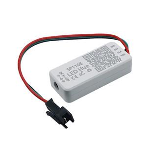 SP110E Bluetooth Pixel light Controller by smart phone APP For WS2812B SK6812 LPD8806 DMX512 1903 RGB RGBW DC5-12V