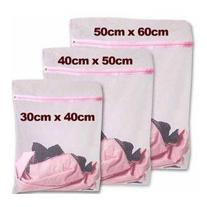 Nylon Mesh Wäschesack Waschen Reinigung Taschen Waschmaschine Professionelle Unterwäsche Taschen Feste Pflegetasche S / M / L Neuheit Haushalt BH2247 CY