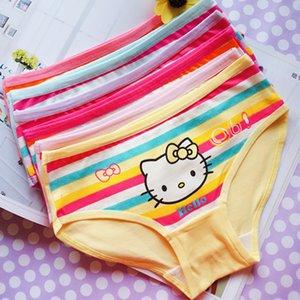 4Pcs Lot Brand Girls Panty Toddler Baby Girls Briefs Panties Underwear Shorts Children's Briefs Girls Underwear