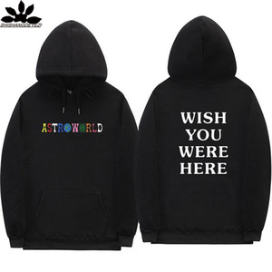 Hot Sale Travis Scott Astroworld Pullover Mode Brief DruckHoodie Street Mann und Frau Sweater