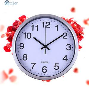 2019 HOT Silent Sweep Modern Graceful Bell Desk Creative Digital Clock Dropshiping Feb25