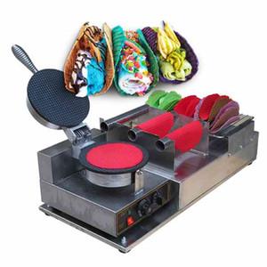 Kolice Gewerbe Taco-Rollen-Maschine / Taco Maker / Taco-Maschine / Waffeleisen / Mehl Mais Taco-Maschine / Tortilla-Hersteller Maschine w Taco Halter