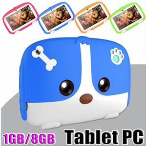 """Kids Tablet PC 7"""" 7 inch Quad Core children tablet Android 6.0 Allwinner A33 google player 512MB 1GB RAM 8GB ROM"""