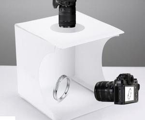 Mini Portable Folding Lightbox Photography Studio Soft box LED Light photo Soft Box DSLR Camera Photo Background