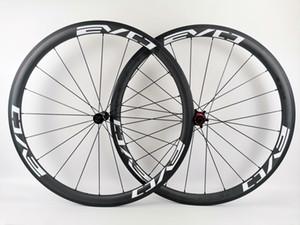 EVO полных колес углерода глубина 38мм ширина 25мм углерод колесного довод / трубчатые дороги углерод велосипед колесные с кАми матового покрытия