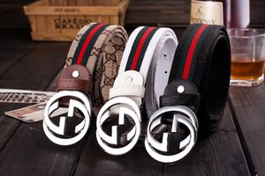 2020 correas de alta calidad de diseño Jeans hombre cinturones cinturones Cummerbund Para los hombres de las mujeres de la hebilla