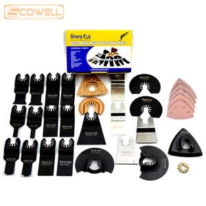 50 шт. / Шт. Профессиональный Осциллирующий Multi Tool Saw Blades Kit, пригодный для Multimaster станков