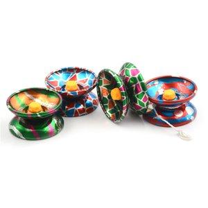 Yoyo 전문 손을 공 놀이 Yo-yo 고품질 금속 합금 고전적인 장난감 Diabolo 마술 선물 아이들을 위해