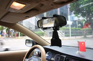 Los titulares de coches Soportes de coche Espejo retrovisor universal titular del teléfono celular del sostenedor del GPS significa Cuna de camión de Auto Soporte Multi Función Espejo Soporte