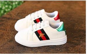 حار بيع جديد مصمم الذهب الوردي الفضة Eur21-36 المسامير الاطفال رياضة عالية الجودة للأطفال أحذية الأولاد بنات أحذية.
