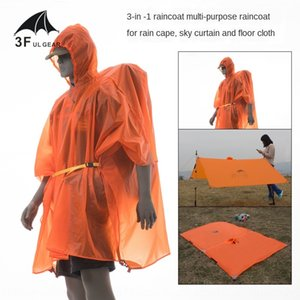 HsFMe Three peaks Three peaks Sky Curtain multi-functional 15d Silicon Sk out multi-purpose raincoat 15D silicon coating three-in-one belt c