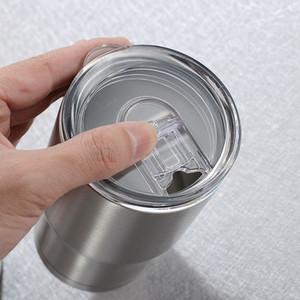 14oz Kids Tumbler Kids Milk Mug 304 Stainless Steel Double Wall Vacuum Insulated Mugs Beer Cups Drinkware with Lid CCA12158 25pcs
