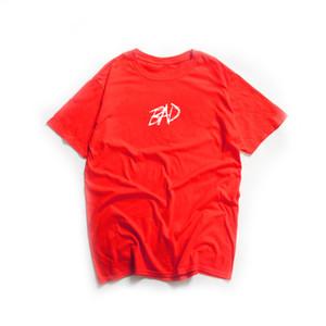Xxxtentacion mala vibra para siempre camiseta de los hombres de las mujeres Xxxtentacion triste impresión de manga corta Hip Hop Swag de Streetwear Hombres Camisetas