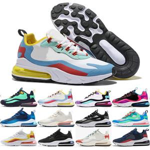 Nike Air Max 270 2019 React Purple Mens training Triple Black white presto Tiger oliva donna Designer tn Scarpe sportive all'aperto Scarpe zapatos us13