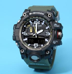 Relógios pulseira de borracha todas as funções dos homens impermeáveis crianças G-Shock GWG1000 Esporte Relógios G estilo de trabalho Hot Selling Militar Relógios Com Box