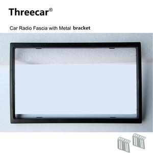 2 Din Car Radio fascia para la instalación radio de coche 7018B 7010B 7200C 7652D 7010G 7018G Recorte Fascia Placa frontal marco del panel de DVD