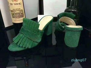 2020 nuova Europa di modo di marca mensstriped sandali causali antiscivolo huaraches estivi ciabatte infradito pantofola MIGLIORE QUALITÀ z07z