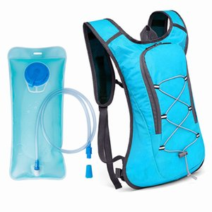 Outdoor Water Bag Hydration Backpack Women Men Camping Hiking Riding Running Bag Water Bladder Container 2L Reflective Pack
