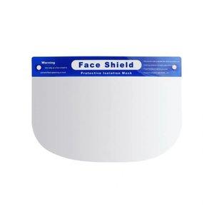 In stock!PET Transparent Protective Mask Anti-Fog Splash Oil-Splash Proof Full Face Mask Protect Shield Anti-Shock Safety Mask