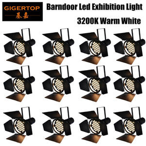 Freeshipping 12 unità 235W bianco caldo 3200k Led Auto Show Led Par Car Exhibition Light