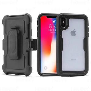 Para Samsung S20 Ultra S10 5G A10E S9 S8 E Plus Nota 8 9 J2 J3 J7 Núcleo 2018 Prime Combo Clipe de Cinto Estojo à prova de choque Protecção Phone Case