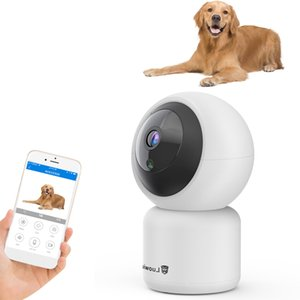 WIFI Camera 1080P HD Security IP Cam Human Pet Detection Night Vision Support SD Card YI Cloud Motion Tracking for Cats Dogs