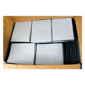 Fábrica de atacado sublimação em branco Mouse Pad calor transferência térmica impressão diy borracha rato personalizado pad pode costume seu projeto