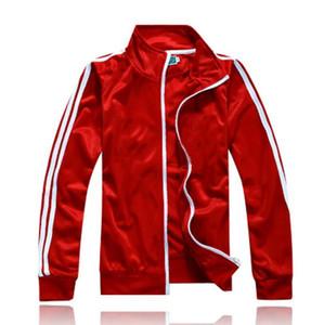 Chándales ropa deportiva Formación jersey de los deportes del juego del traje de entrenamiento de fútbol de los hombres de manga larga chaqueta de punto de ropa deportiva personalizada Baloncesto LOGOTIPO